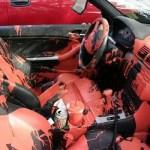 سيارة مدمرة