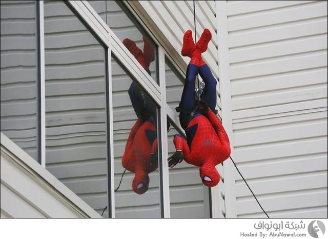 الأبطال الخارقون spiderman