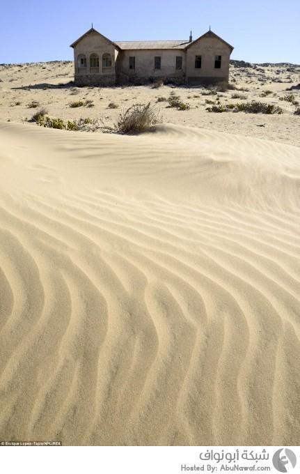 صراع البقاء بين الرمال والمنازل المهجورة في لقطات 3