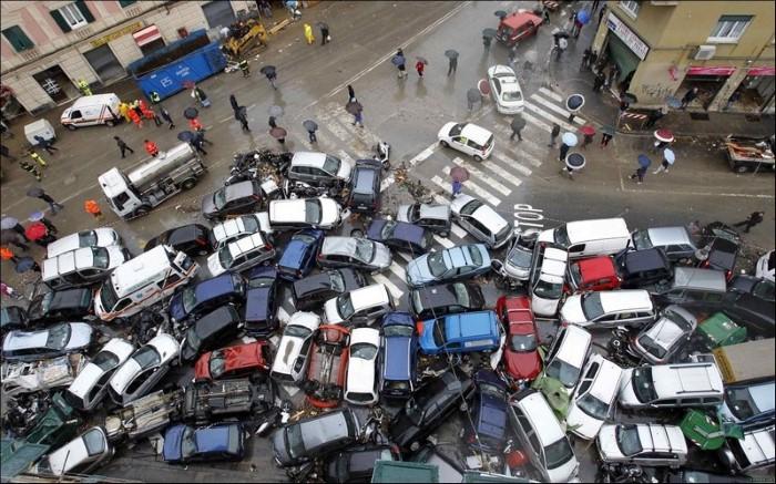 صور: الحوادث المرورية من جميع أنحاء العالم