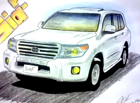 رسم سيارات2