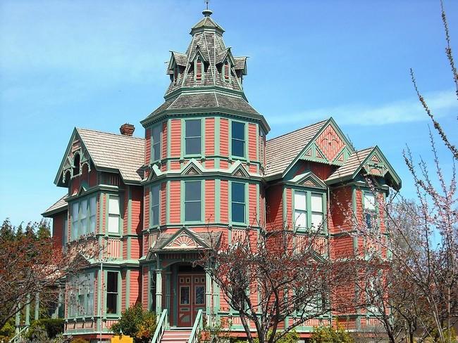منزل مرعب في واشنطن