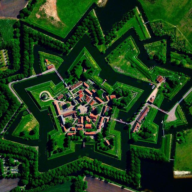 قرية Bourtange في هولندا