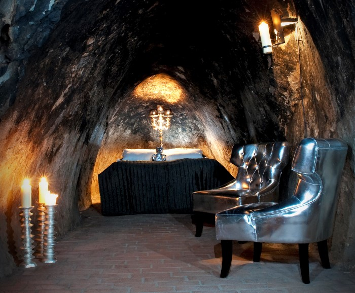 فنادق جميلة تحت سطح الأرض