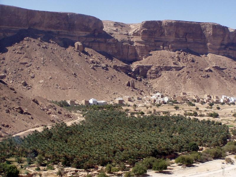 قرى حضرموت في اليمن
