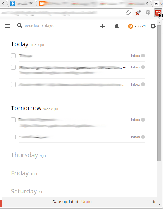 ToDoist-extension