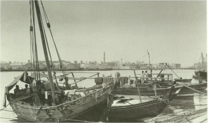 مراكب صيد قديمة