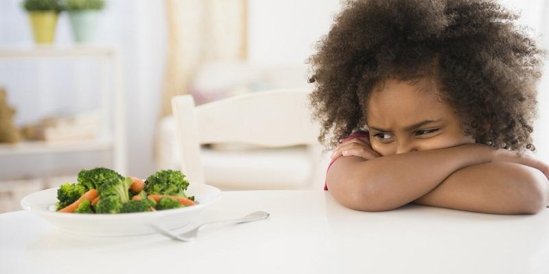 أطفال يكرهون الخضار