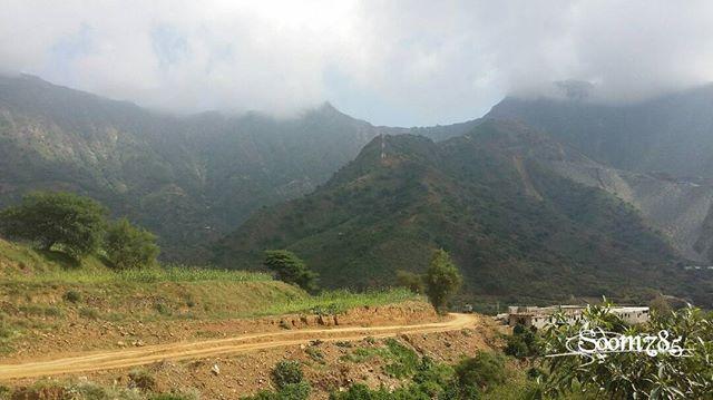 جبال هروب في جازان