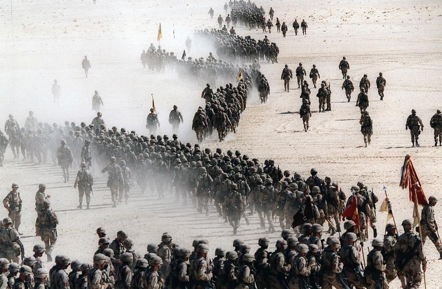 صور: 25 عامًا مضت على حرب تحرير الكويت - شبكة ابو نواف