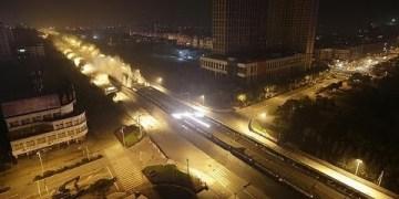 تفجير جسر في الصين