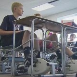 Cycling Machines Under Students