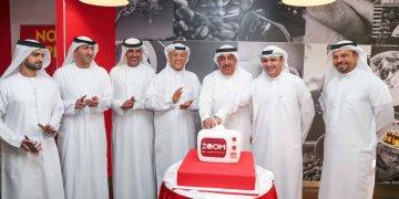 مؤسسة دبي للإعلام و اينوك تفتتحان زووم
