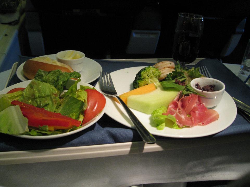 طعام الطائرات