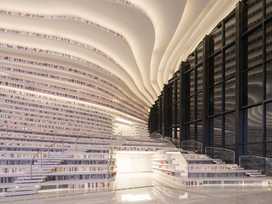 تصيمم مكتبة رائعة