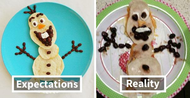 أسوء تجارب الطهي
