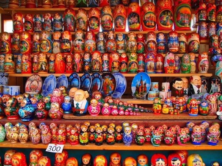 سوق Izmailovsky