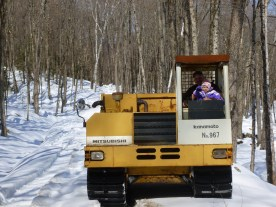 """Sugaring in the """"Track Dumper"""""""