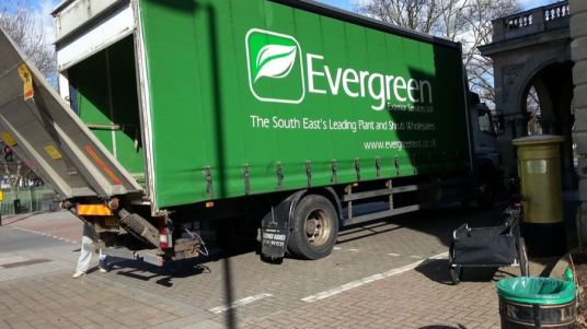 Abundance London Flag Pole Garden delivery