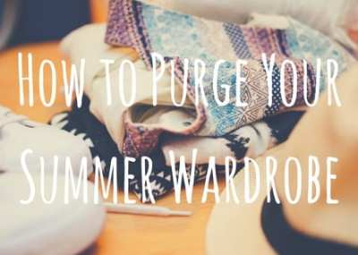 How to Purge Your Wardrobe