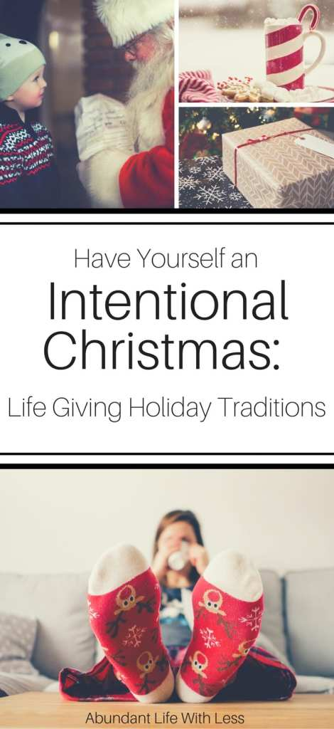 Have Yourself an Intentional Christmas