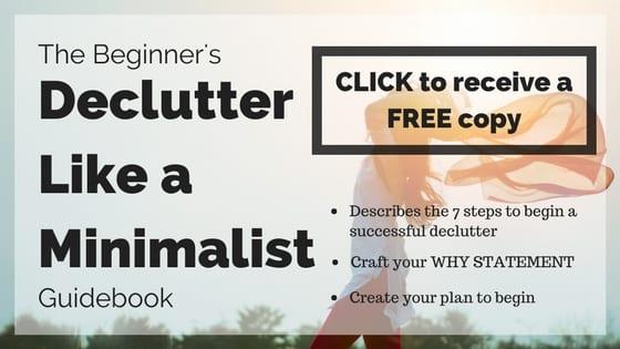 Declutter Like a Minimalist Guidebook