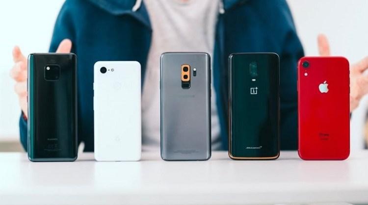 أقل 10 هواتف تقديراً عام 2018