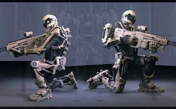 الروبوتات العسكرية