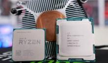 بالصور مقارنة رائعة بين معالجي AMD Ryzen 5 1600 و انتيل Core i7-7800X تضمنت 30 لعبة