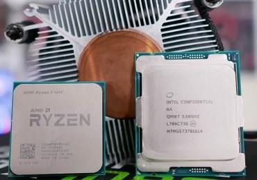 بالصور مقارنة رائعة بين معالجي AMD Ryzen 5 1600 و Intel Core i7-7800X تضمنت 30 لعبة