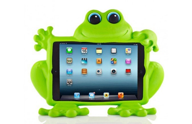 بيت وإطار Koooky Eddie the Frog iPad Air case