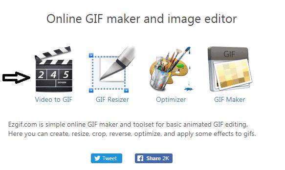 تحويل فيديو إلى GIF