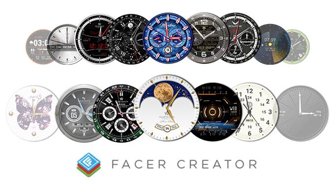 تطبيق Facer
