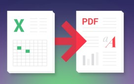 حفظ مصنف إكسل كملف PDF