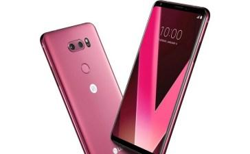 شركة LG تصدر نسخة V30 وردية وستتاح بالتزامن مع عيد الحب