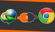 طريقة حل مشكلة انترنت داونلود مانجر مع جوجل كروم
