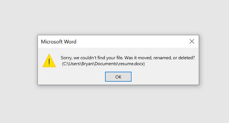 كيفية استعادة ملف محذوف أو غير محفوظ في مايكروسوفت وورد
