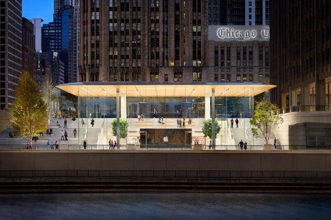 متجر Apple Michigan Avenue شيكاغو