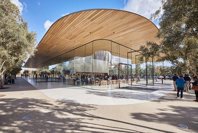 متجر Apple Park Visitor Centre