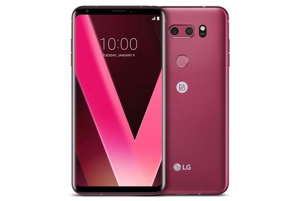 هاتف V30 وردي