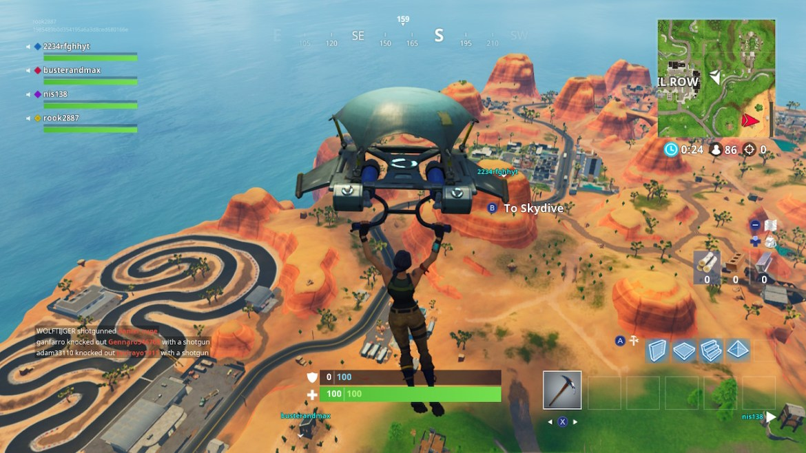 Fortnite Desert