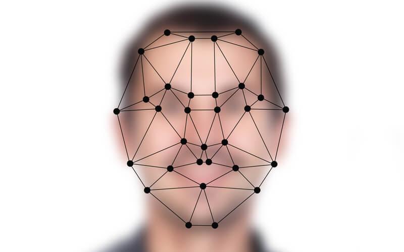 التعرف على الوجه بصورة 2D