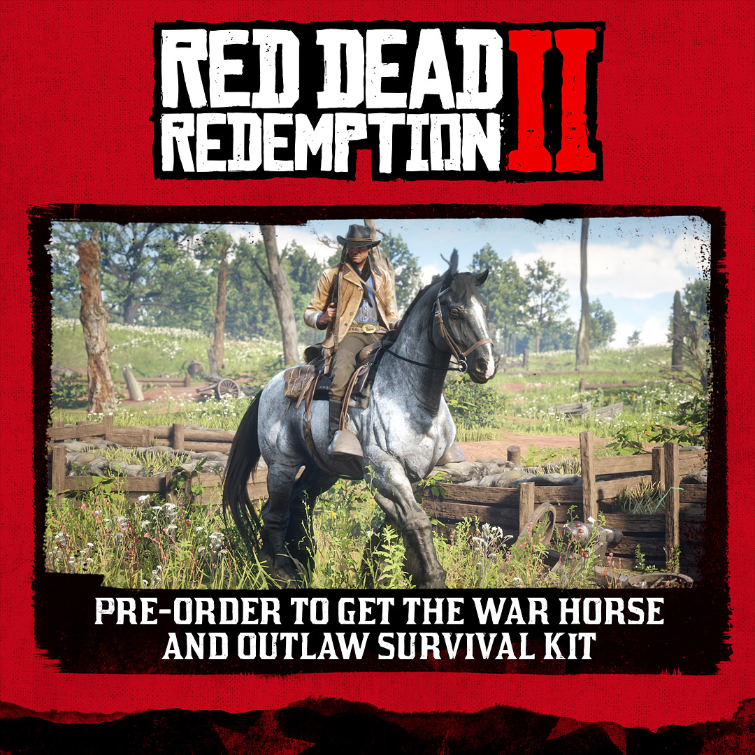 Red Dead Redemption 2 Preorder