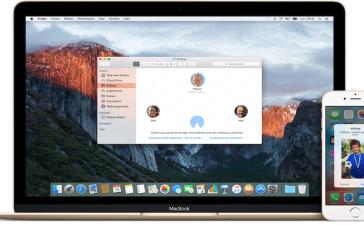 AirDrop on MacOS Dock