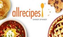 Allrecipes Dinner Spinner تطبيق قوي لإيجاد أفضل الوصفات