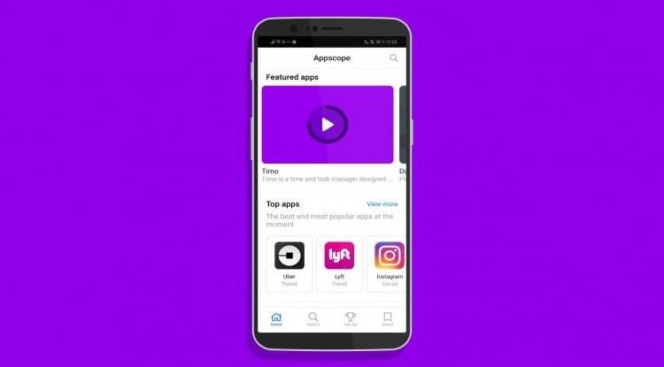 Appscope منصة لتشغيل التطبيقات دون تنزيلها