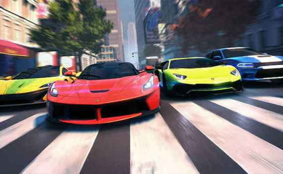 Asphalt Street Storm Racing Game