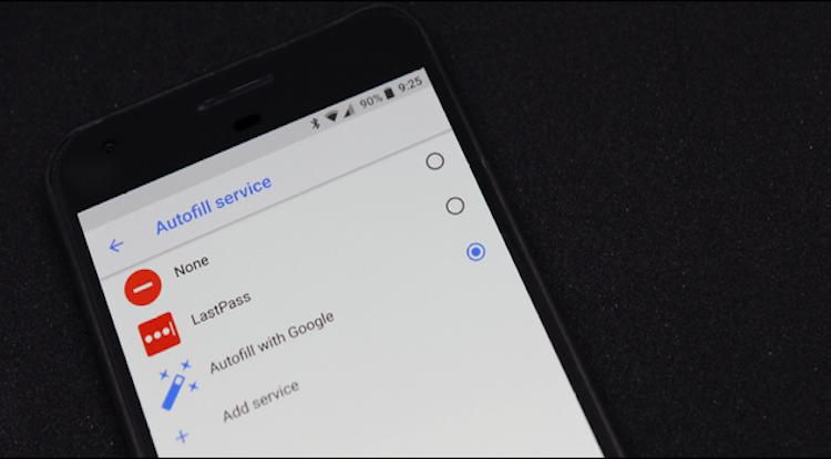 Autofill Android Oreo
