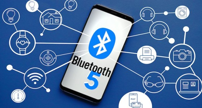 Bluetooth 5 Android Oreo S8