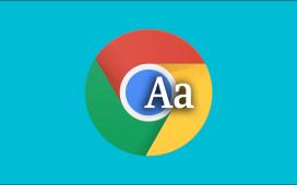 تكبير أو تصغير النص في جوجل كروم